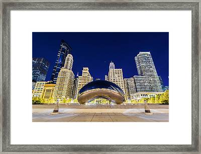 Millenium Skyline Framed Print by Drew Castelhano