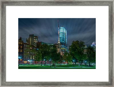 Millennium Construction Framed Print