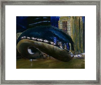 Millennium Park - Chicago Framed Print