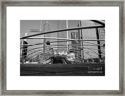 Millennium Park Iv Visit Www.angeliniphoto.com For More Framed Print by Mary Angelini