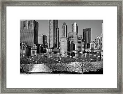 Millennium Park V Visit Www.angeliniphoto.com For More Framed Print by Mary Angelini