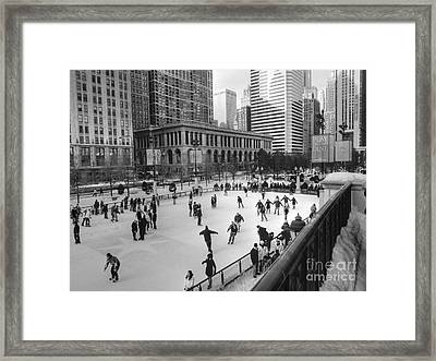 Millennium Skate Framed Print by David Bearden