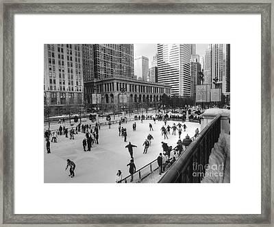 Millennium Skate Framed Print by David Bearden