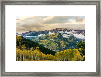 Miller Hill Framed Print by TL  Mair