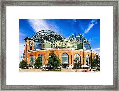 Miller Park Framed Print by Keith Homan
