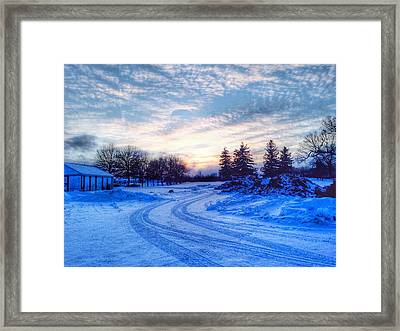 Millers Crossing Framed Print