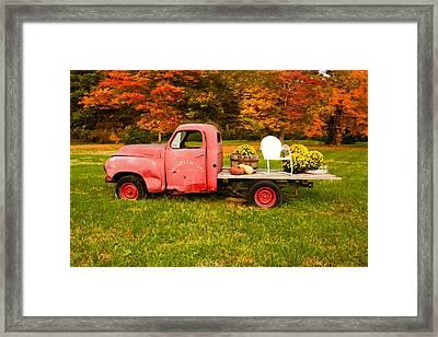 Millers Truck Framed Print by Paul Bartoszek