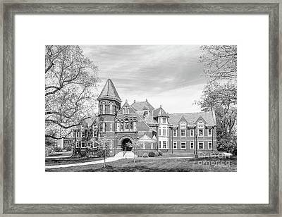 Millersville University Old Library Framed Print