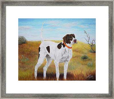 Milley, Pure Perfection Framed Print by Belinda Nagy