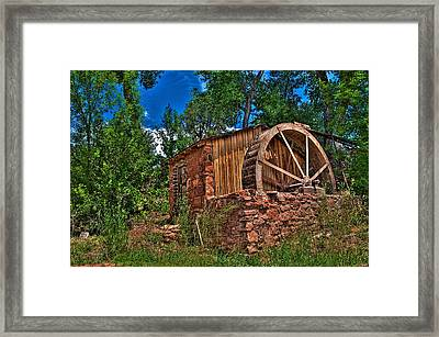 Millhouse Framed Print by William Wetmore