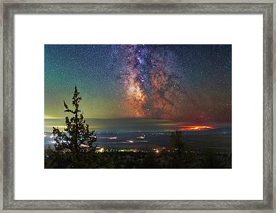 Milli Fire Framed Print