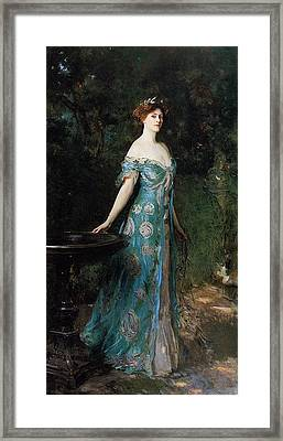 Millicent  Duchess Of Suther Framed Print