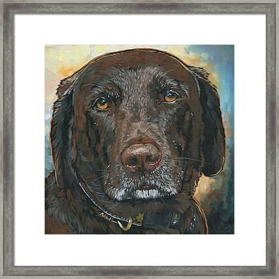 Millie Framed Print by Nadi Spencer