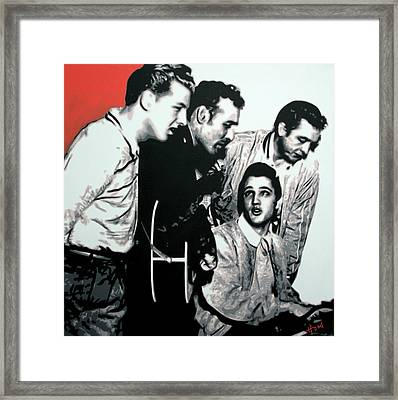Million Dollar Quartet Framed Print