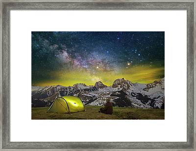 Million Star Hotel Framed Print