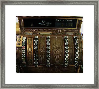 Framed Print featuring the photograph Millionaire by Cyryn Fyrcyd