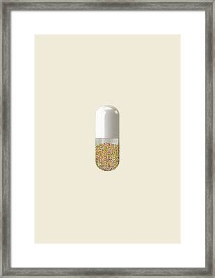 Millions And Billions Framed Print by Nicholas Ely