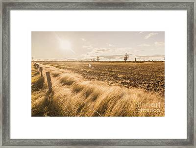 Millmerran Framed Print by Jorgo Photography - Wall Art Gallery