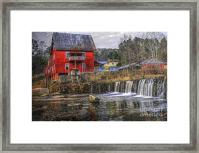 Millmore Or Baxter Mill Gristmill Framed Print