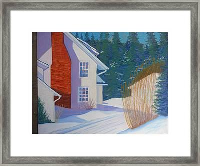 Mills House -chester Framed Print