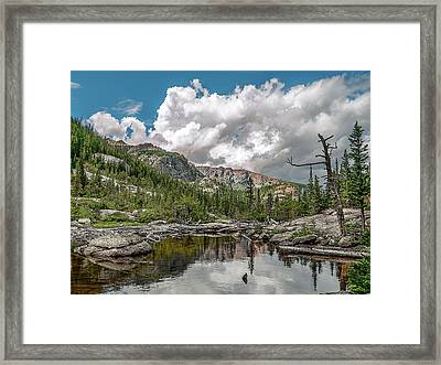 Mills Lake 5 Framed Print