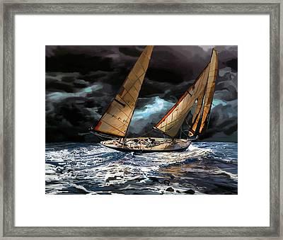 Milne Number 162 Framed Print by Brad Burns