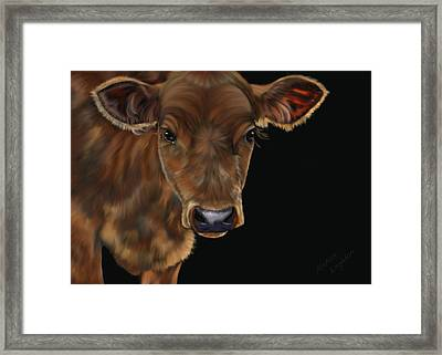 Milo Framed Print by Michelle Wrighton