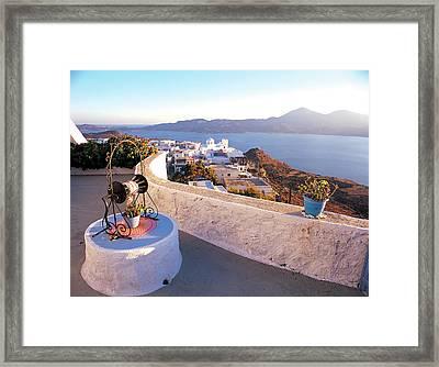 Milos Island 01 Framed Print by Manolis Tsantakis