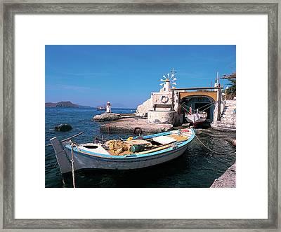 Milos Island 03 Framed Print by Manolis Tsantakis