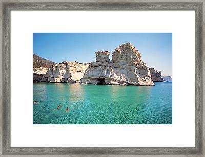 Milos Island 04 Framed Print by Manolis Tsantakis