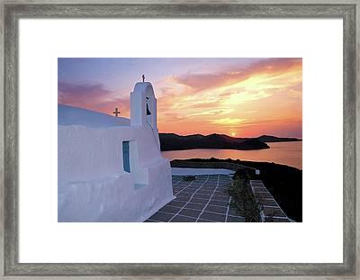 Milos Island 2 Framed Print by Manolis Tsantakis