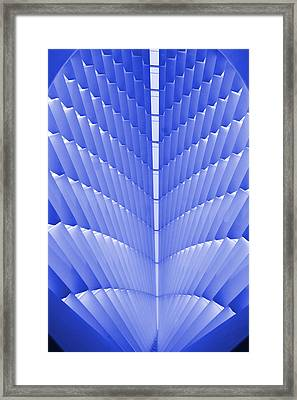 Milwaukee Art Museum Abstract Framed Print by Elvira Butler