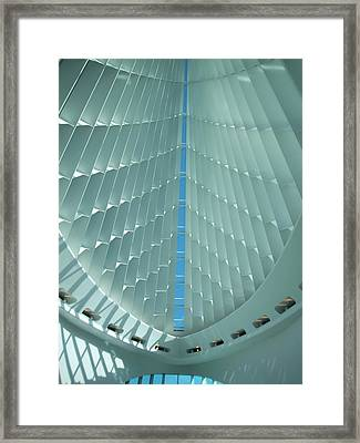 Milwaukee Art Museum Interior Framed Print