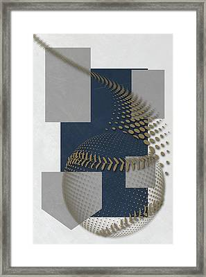 Milwaukee Brewers Art Framed Print