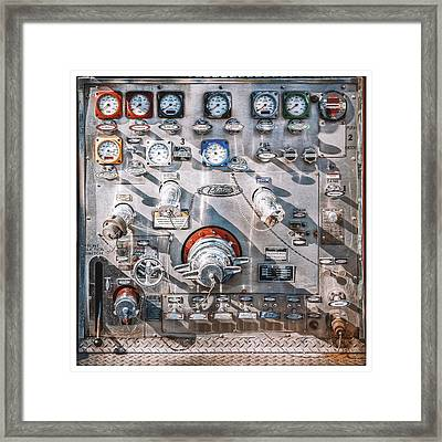 Milwaukee Fire Department Engine 27 Framed Print