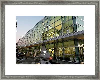 Milwaukee Greyhound Framed Print by David Bearden