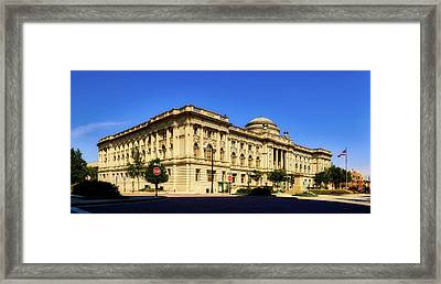 Milwaukee Public Library Framed Print by L O C