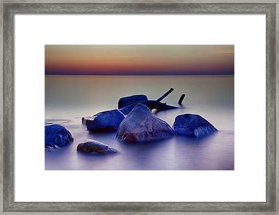Milwaukee Rocks Framed Print
