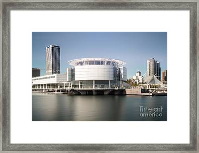Milwaukee Skyline With Discovery World Picture Framed Print by Paul Velgos