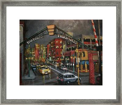 Milwaukee's Historic Third Ward Framed Print by Tom Shropshire