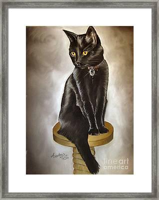 Mimi Framed Print by Anastasis  Anastasi