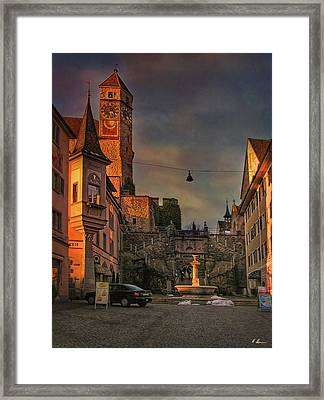 Framed Print featuring the photograph Main Square by Hanny Heim