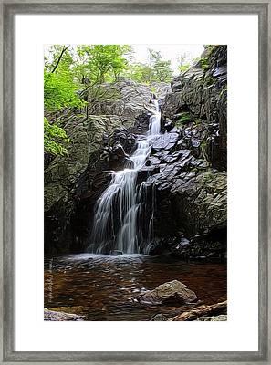 Mina Suak Falls, Mo. Framed Print