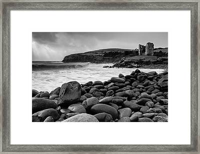 Minard Castle 1 Framed Print by Graham Daly