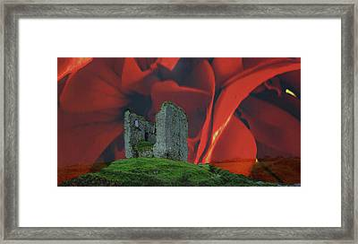 Minard Castle #d2 Framed Print