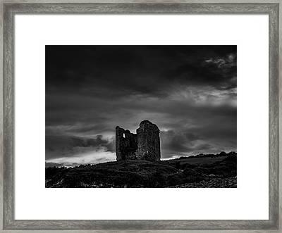 Minard Castle Bw #g0 Framed Print