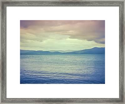 Minard Morning #d1 Framed Print