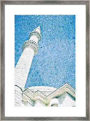 Minaret Framed Print by Tom Gowanlock