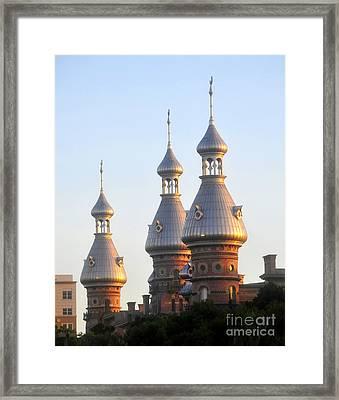 Minarets Over Tampa Framed Print