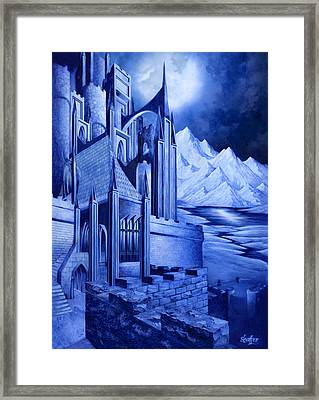 Minas Tirith Framed Print by Curtiss Shaffer